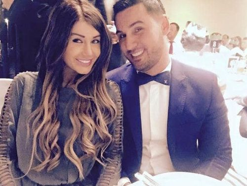 Aysha Learmonth with Mehajer before their split. Picture: Supplied