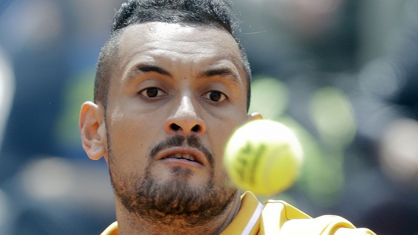 Nick Kyrgios says that 'French Open sucks' and tennis should ditch clay courts