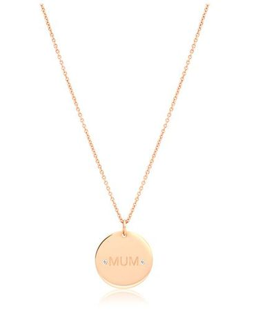 "<a href=""http://www.aristidesfinejewels.com/diamond-mum-yellow-gold-necklace/"" target=""_blank"" draggable=""false"">Aristides Diamonnd Mum Yellow Gold Necklace, $845.</a>"