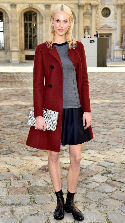 <p>Outside Dior's Fall 2015 show at Paris Fashion Week.</p>