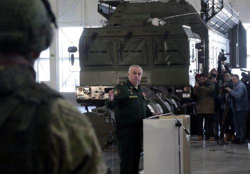 Lieutenant-General Mikhail Matveevsky