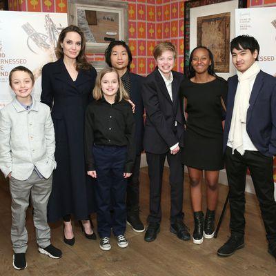 Angelina Jolie and Brad Pitt: 6 kids