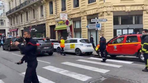 Nice France stabbing attack