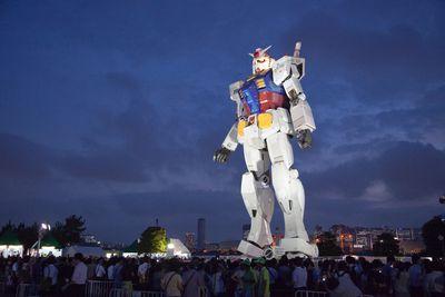 <strong>Tokyo, Japan: Gundam Wing</strong>