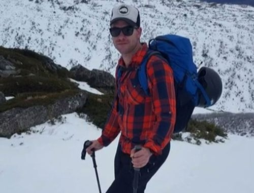 Michael Davis was part of a group of 15 climbers who were descending the mountain Ama Dablam.