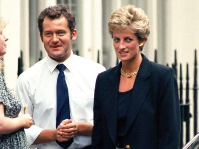 Princess Diana's butler shares note which he claims shows she'd support Meghan and Harry
