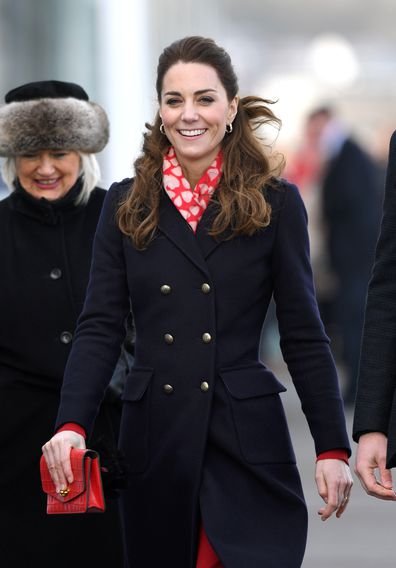 Kate Middleton Prince William visit Wales