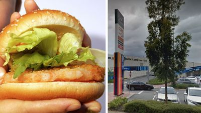 Woman found dead in car may have 'choked on chicken burger'
