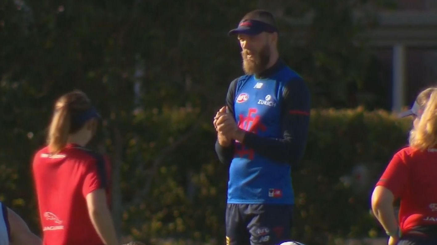 Max Gawn says he'd be 'very, very stupid' to leave Melbourne after signing new deal