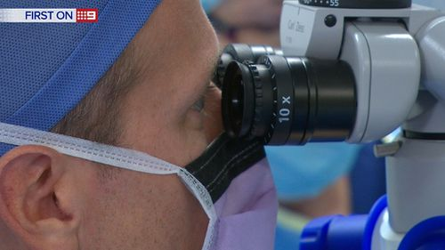 The Tecnis Symgony costs about $1400 per eye. (9NEWS)