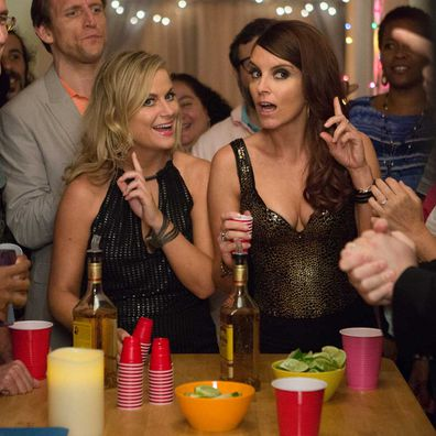 Amy Poehler and Tina Fey in Sisters.