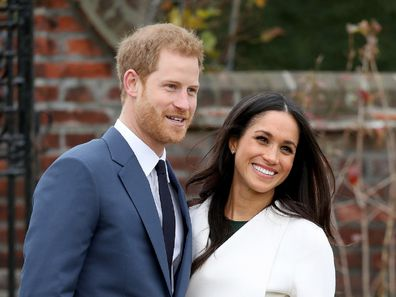 Harry and Meghan engagement announcement.