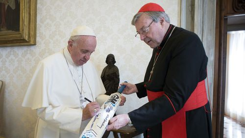 Cardinal George Pell was one of the most senior clergy at the Vatican.