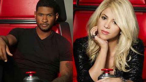 First look: Usher and Shakira in the coach's chair on <i>The Voice</i> US