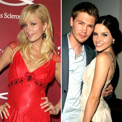 Paris Hilton, Chad Michael Murray and Sophia Bush