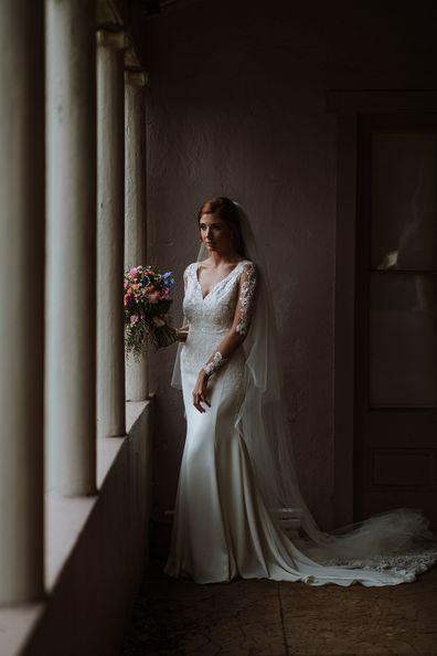 Tamara wedding dress window