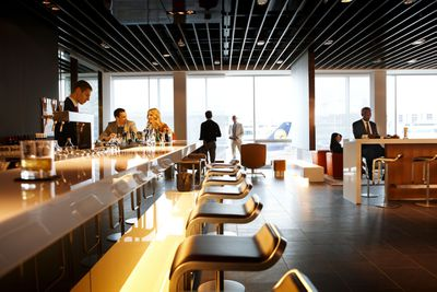 <strong>Frankfurt, Germany: Lufthansa first class</strong>