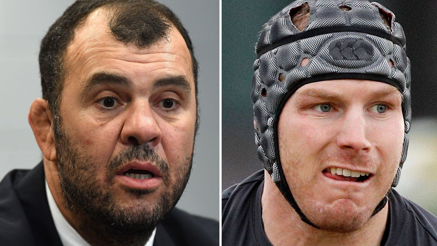 Michael Cheika responds to vile David Pocock taunts by former Ireland international