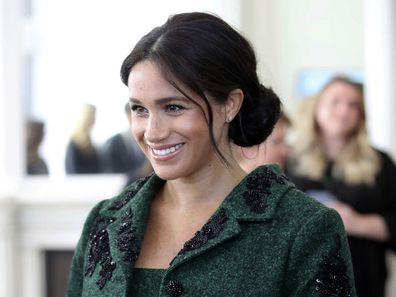Meghan Markle is resting at home ahead of the birth.