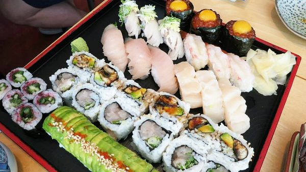 Dish served at Toshi Sushi (Facebook)