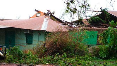 Cyclone Ingrid affected Queensland, Western Australia and the Northern Territory in 2005, but only in the latter did it intensify into a category five storm. (AAP)