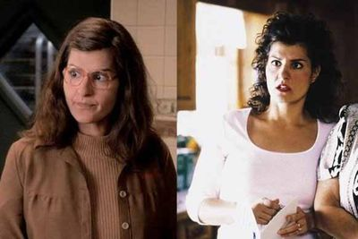 Spunky Aiden from Sex And The City never looked twice at frumpy waitress Toula. When she waxed her lip, ditched the glasses and got an office job, he suddenly became her husband. Go figure.