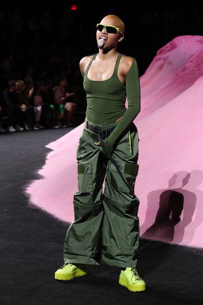 Fenty x Puma by Rihanna, New York Fashion Week, September 2017.