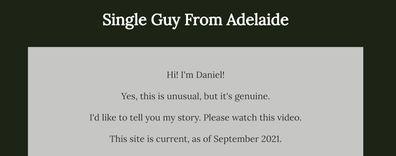 Daniel Piechnick, Single Guy From Adelaide
