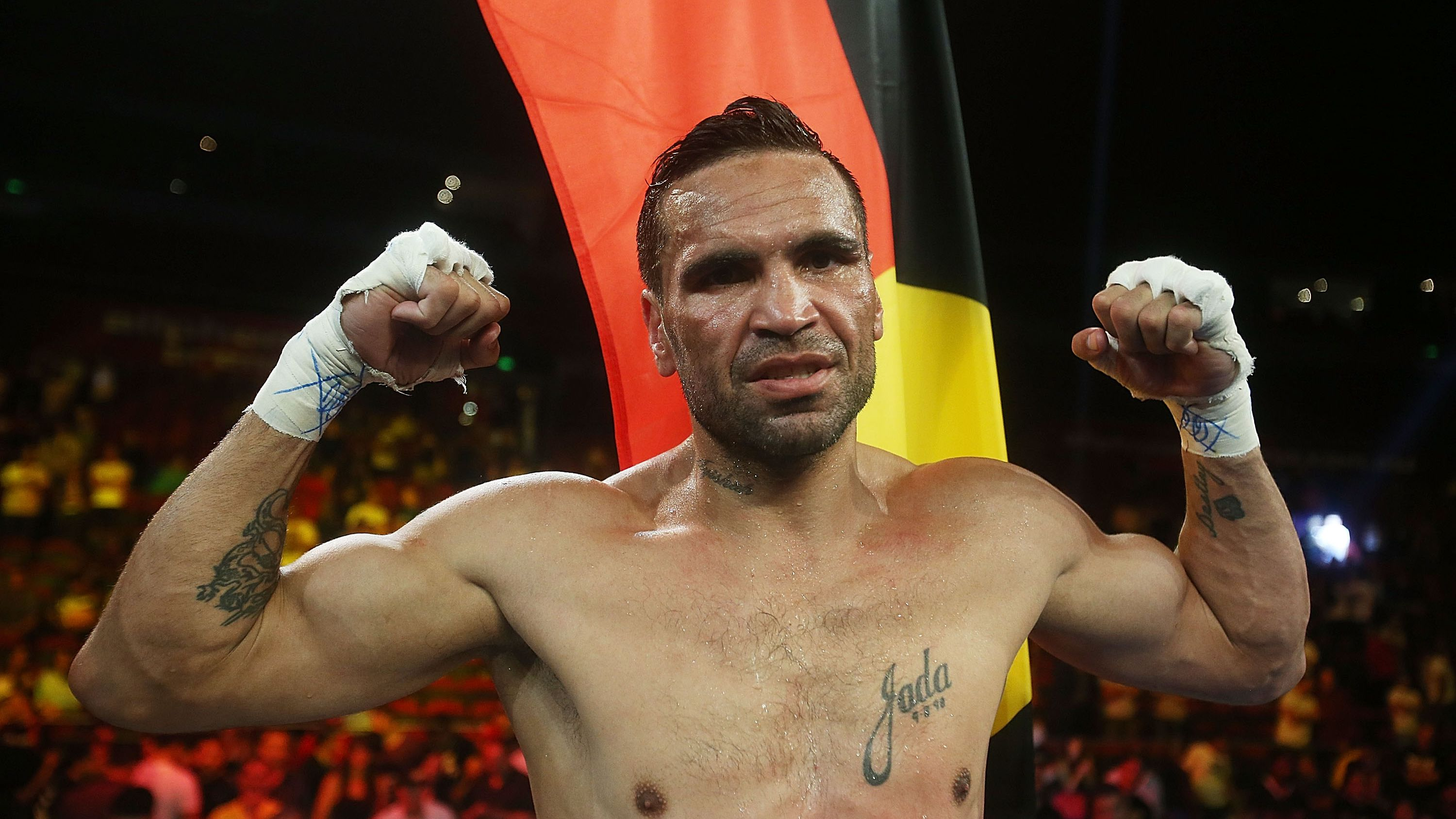 'One word ain't gonna change the core meaning': Anthony Mundine rejects national anthem tweak