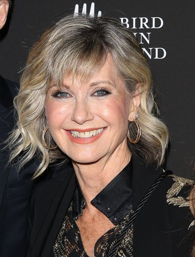 Olivia Newton-John is feeling lucky to be alive as she battles breast cancer for the third time.