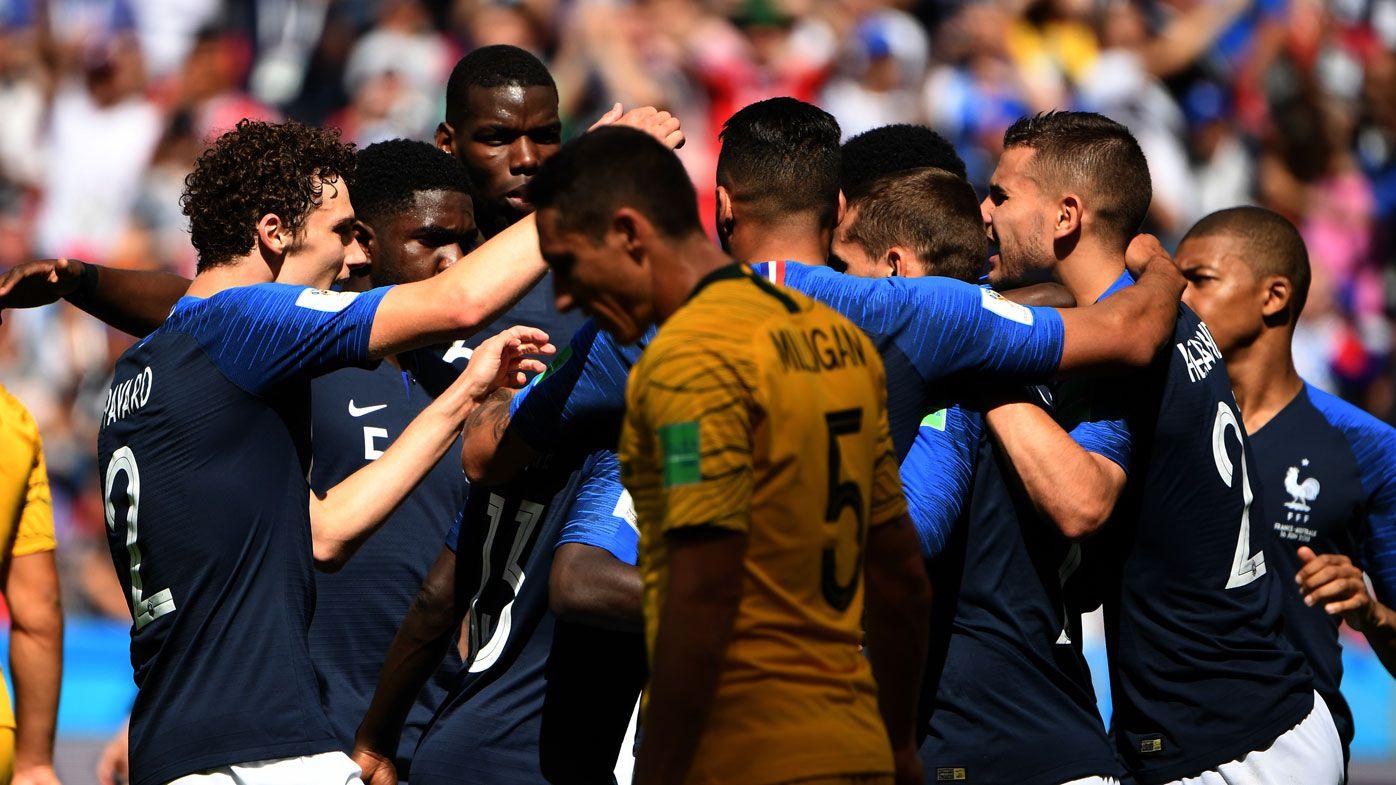 France beat Socceroos
