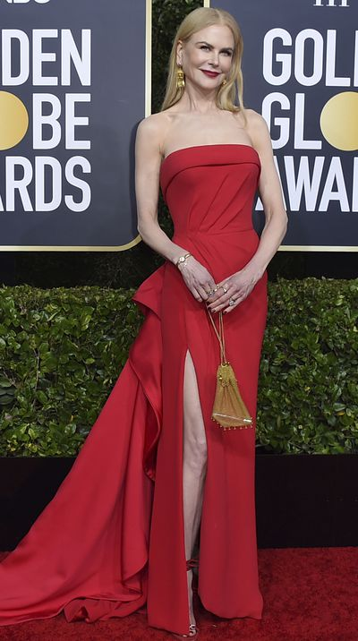 Nicole Kidman at the 2020 Golden Globes.