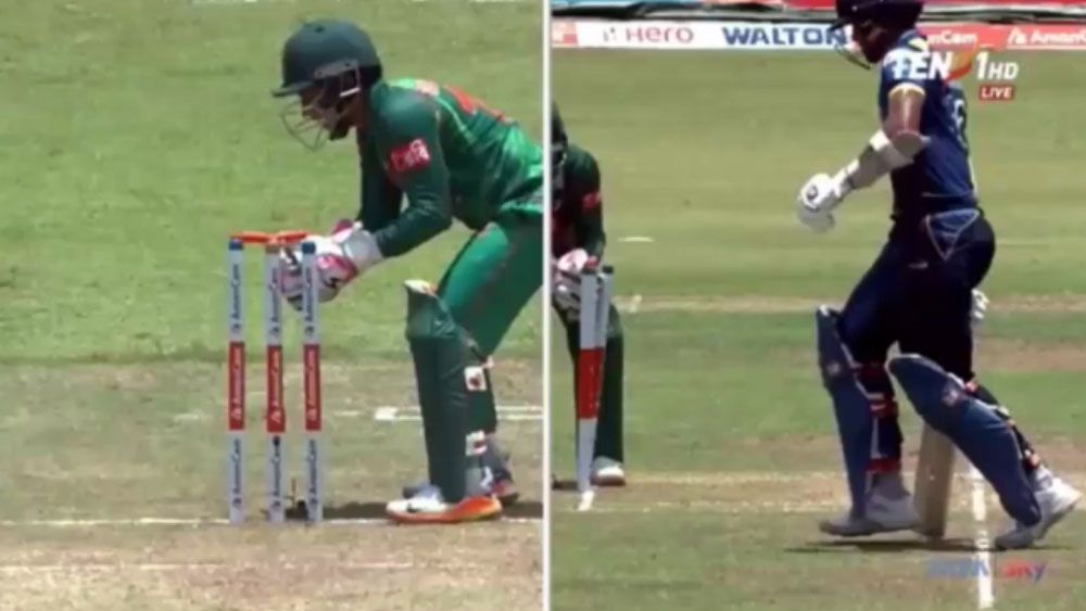 Sri Lanka gets away with comedy of errors in ODI win over Bangladesh
