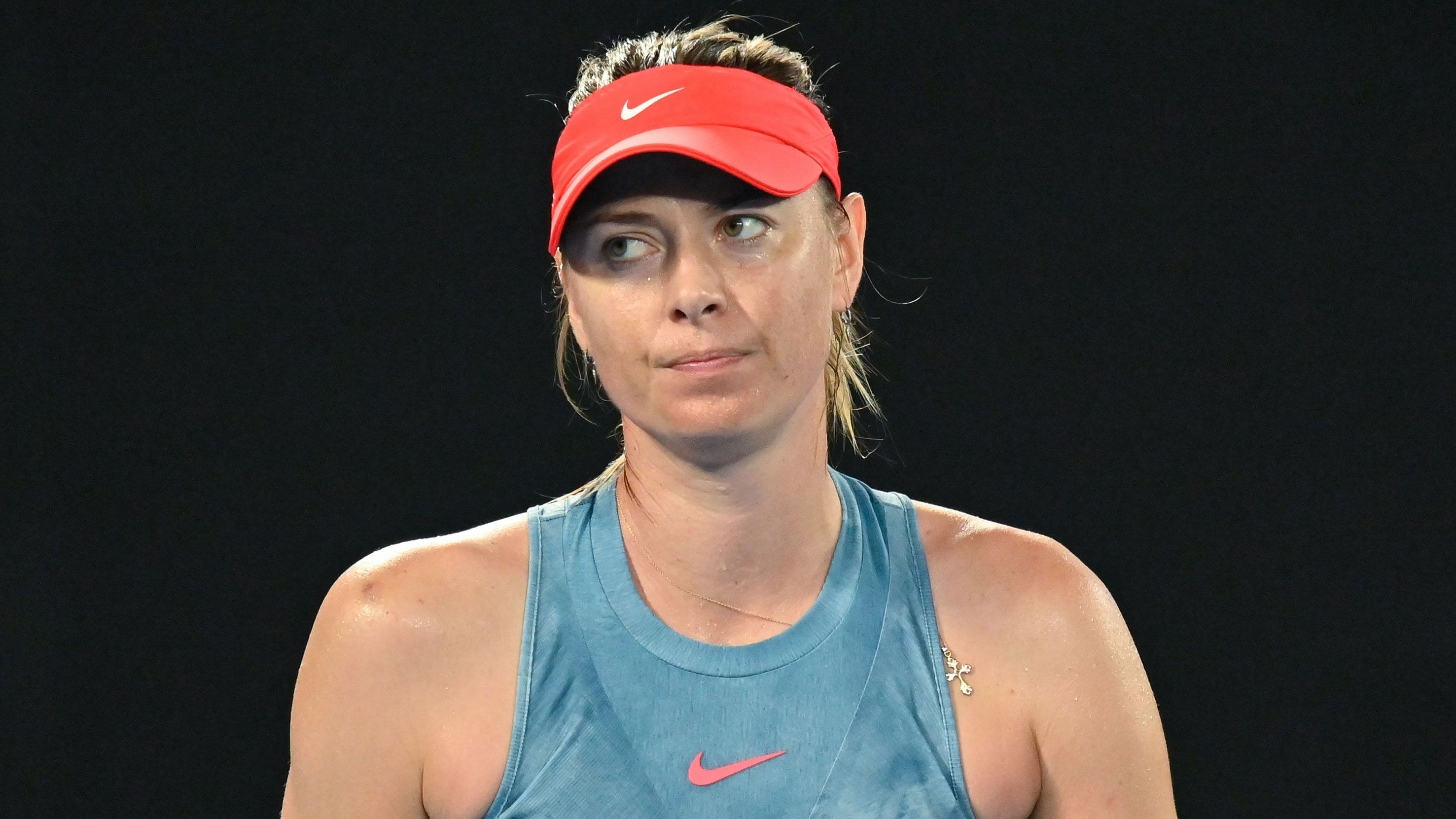 Maria Sharapova fumes after being asked about long bathroom break