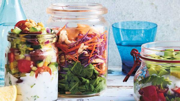 Luke Hines' rippin' roast chicken salad jar recipe