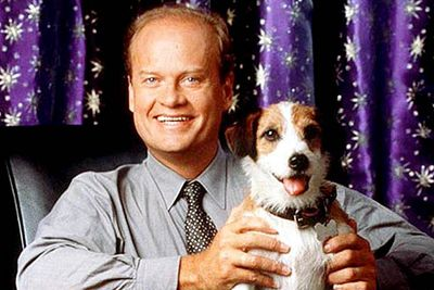 In real life the dog on <B><I>Frasier</I></B> was played by a Jack Russell named Moose, and later by Moose's son Eddie. But what was the dog known as on the show?