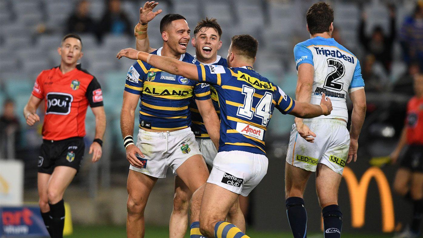 NRL: Parramatta Eels target Anzac Day blockbuster for stadium-opener