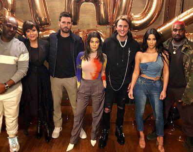 Jonathan Cheban, Kim Kardashian, Kanye West