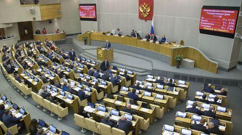 Russian parliament (AAP)