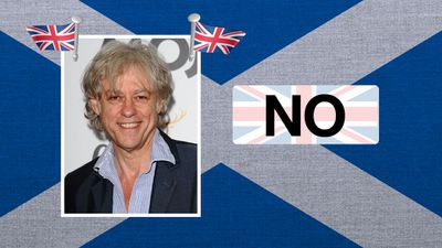 """Bob Geldof, musician and activist: """"The United Kingdom is one of the greatest ideas for the modern age."""""""