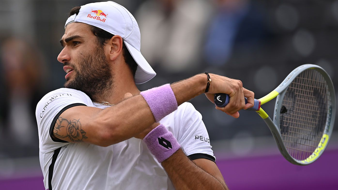Matteo Berrettini wins Queen's, Ugo Humbert claims Halle in Wimbledon build-up