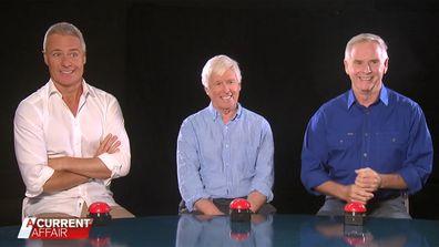 Ed Phillips, Tony Barber and Glenn Ridge