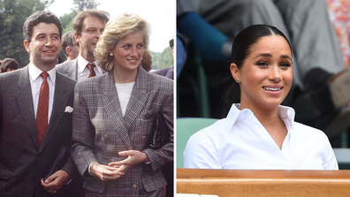 Diana's former private secretary issues warning to Harry and Meghan