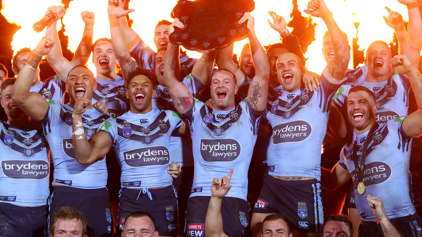 NSW Blues claim the 2019 State of Origin series. (Getty)