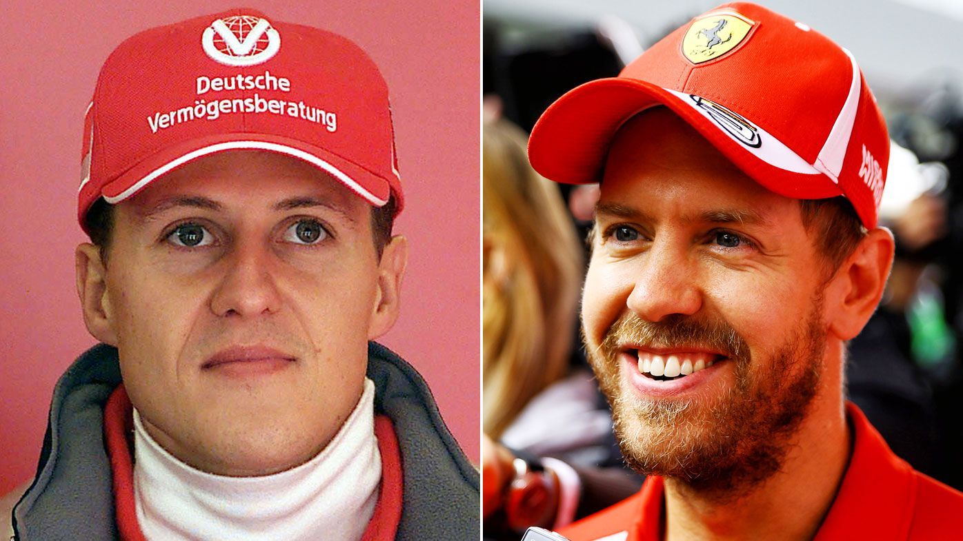 F1 commentator links Schumacher-Ferrari title season to Vettel 2019 campaign