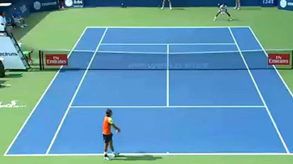 Tennis integrity unit assessing match between Alexandr Dolgopolov and Thiago Monteiro