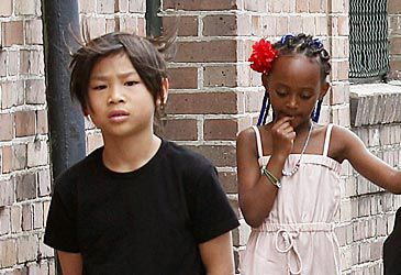 Daily Quiz: Who are the adoptive parents of Pax and Zahara?