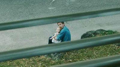 <p>Shiloh Jolie-Pitt and Brad Pitt</p>