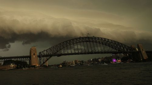 Dangerous thunderstorms are forecast to hit Sydney.