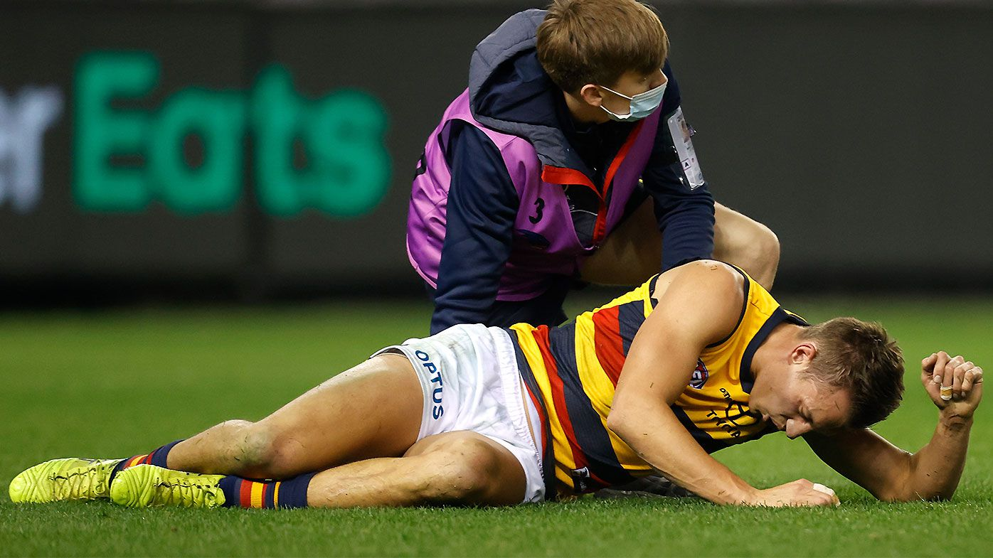 'I was praying that he pulled out': Crows star Tom Doedee's 'silly courage' raises safety questions